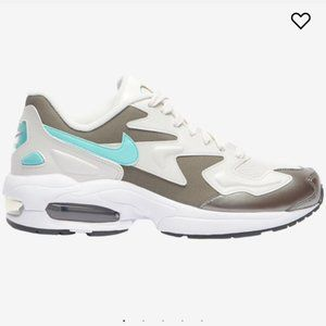 NIKE WOMEN'S AIR MAX 2 LIGHT PHANTOM 10